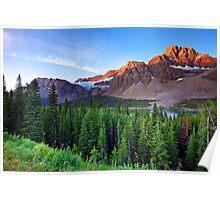 Crowfoot Glacier Poster