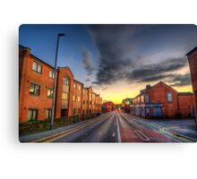 Nottingham Road  Canvas Print