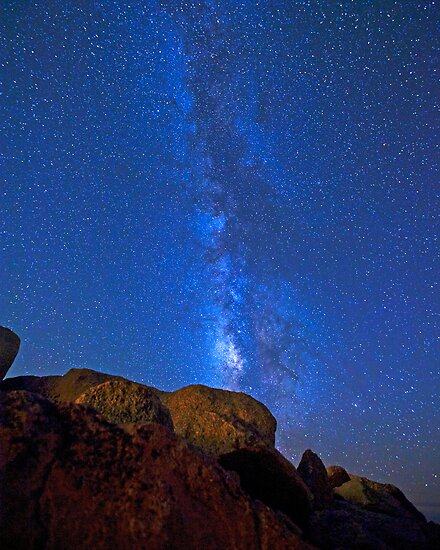 The Milky Way - Mt. Evans by Rick Louie