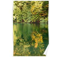 plitvice at fall Poster