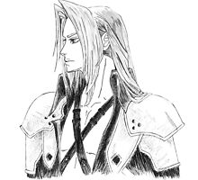 Sephiroth by 11celle