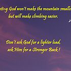 Make Climbing Easier by BobJohnson