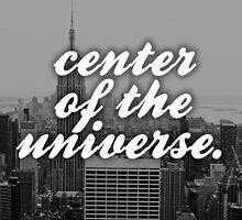 New York City - Center of the Universe... by hopeandcoffee