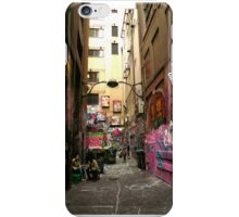 Graffiti Lane, Melbourne iPhone Case/Skin