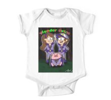 Gravity falls wonder twins One Piece - Short Sleeve