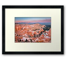 Bryce Canyon Sunset Framed Print