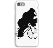 Silverback Gorilla on a Bike iPhone Case/Skin