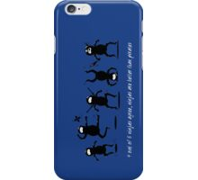 Ninjas are Better than Pirates iPhone Case iPhone Case/Skin
