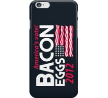 With Liberty and Bacon for All iPhone Case iPhone Case/Skin