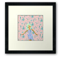 Design Based in Reality Pink Framed Print