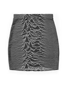 Joy Division Shirt Mini Skirt