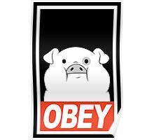 OBEY Waddles Poster