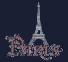 Paris France Eiffel Tower One Piece - Long Sleeve
