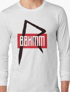 BBHMM $$ Rihanna Badgalriri R8 Merch Long Sleeve T-Shirt