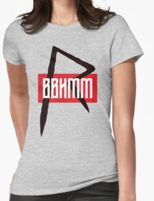 BBHMM $$ Rihanna Badgalriri R8 Merch Womens Fitted T-Shirt