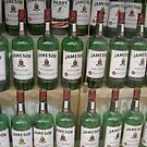 MT Bottles,,Matt Molloy's Pub Window,,Westport,,Co.Mayo,Ireland. by Pat Duggan
