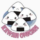 Kawaii Onigiri by bastetsama