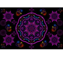 Eight Pointed Stars Photographic Print