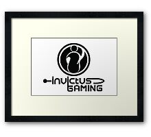 Invictus Gaming Framed Print