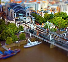 London Charing Cross Railway Station by unitsoul