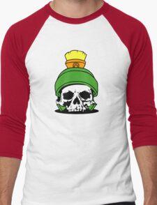 Marvin The Dead Men's Baseball ¾ T-Shirt