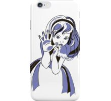 Alice through the looking glass iPhone case iPhone Case/Skin
