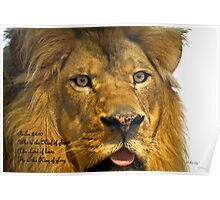 Jesus is, The King of Kings / The Lion of Judah Poster
