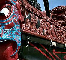 Te Kotuiti II - waka........... by Roy  Massicks