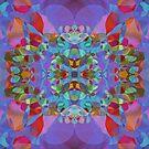 Butterfly Blossoms by Lynda Lehmann