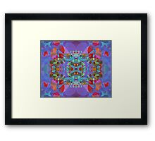 Butterfly Blossoms Framed Print