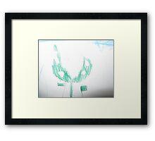 Luigi the Piranha Plant Framed Print