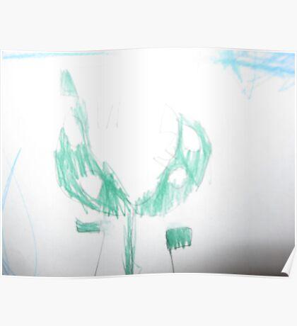Luigi the Piranha Plant Poster