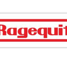 Ragequit Sticker