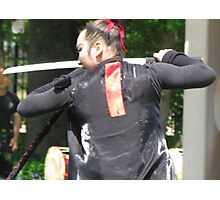 Korean sword dancer Photographic Print