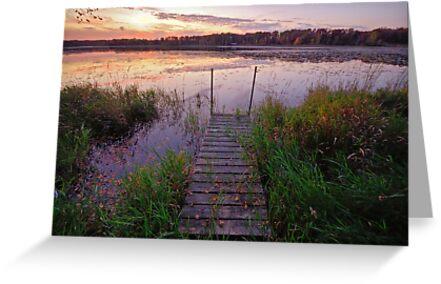 Gull Lake, Minnesota by Mitchell Tillison