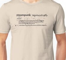 the definition of steampunk Unisex T-Shirt