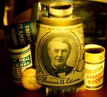 The Thomas A. Edison.......... a true visionary... by Larry Llewellyn