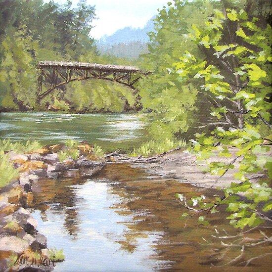 Bridge View by Karen Ilari