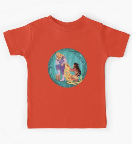 Genderbent Princesses Kids Tee