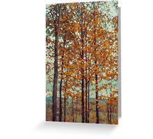 Autumn in the Blue Ridge Mountains Greeting Card