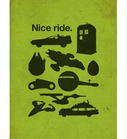 Nice Ride Sticker