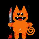 KAT 2 (Cute pet with a sharp knife!) by peter chebatte