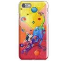 Topsy Turvy Trip I phone case, by Alma Lee iPhone Case/Skin