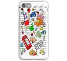 Felt Tip Doodle Case iPhone Case/Skin