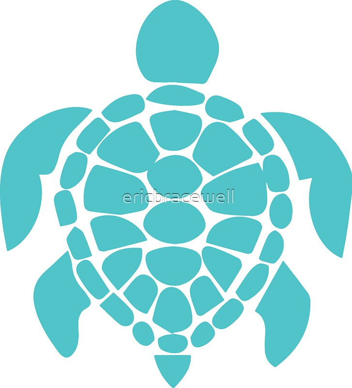 teal turtle stickers by ericbracewell redbubble. Black Bedroom Furniture Sets. Home Design Ideas