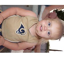 lets go Rams Photographic Print