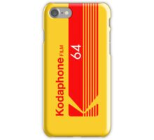 Kodaphone 64 iPhone Case/Skin