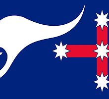 New Australian Flag Design - AFL1 by VooKoo