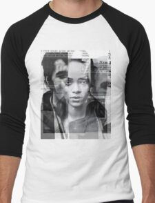 rihanna by nick byer Men's Baseball ¾ T-Shirt