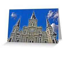 St. Louie Greeting Card